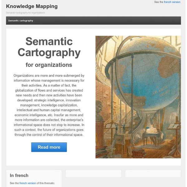Bienvenue sur le portail de la cartographie sémantique