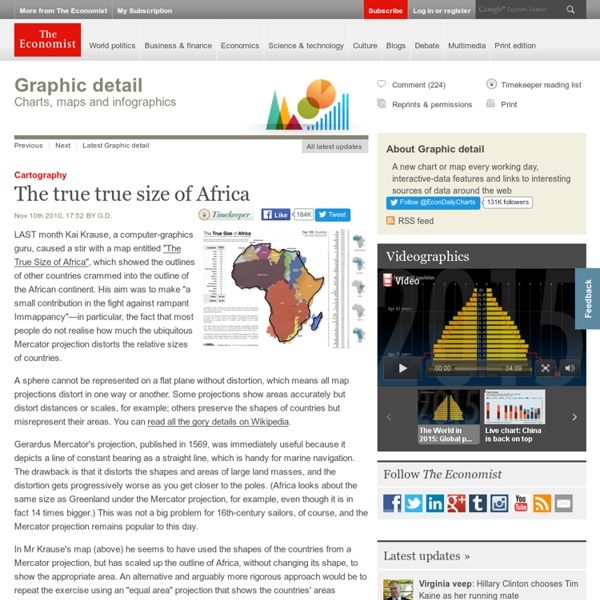 Cartography: The true true size of Africa