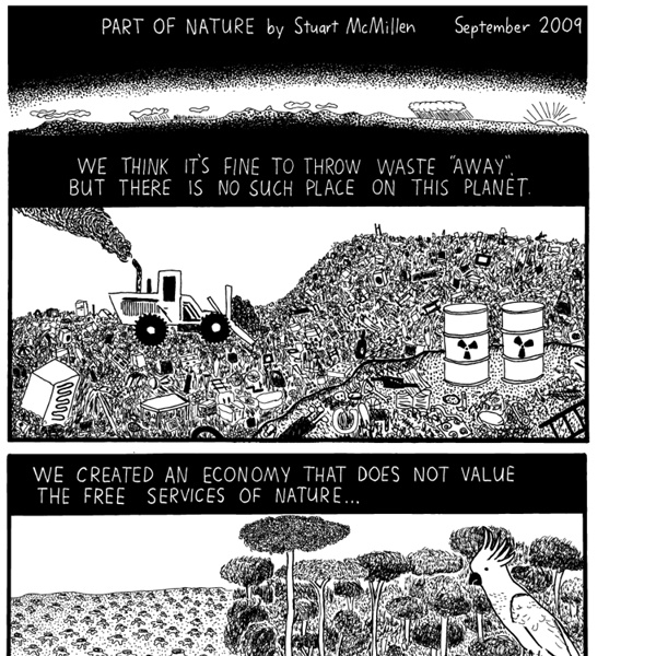 Part of Nature cartoon by Stuart McMillen - Recombinant Records