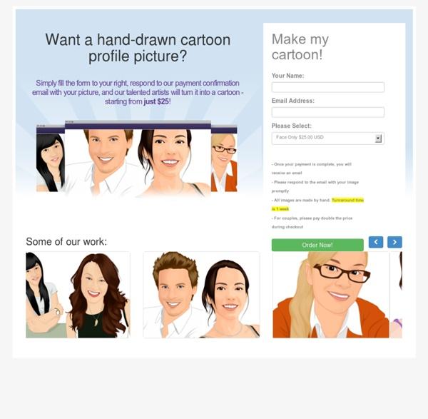 Cartoon Version - Get a Cartoon Version of You!