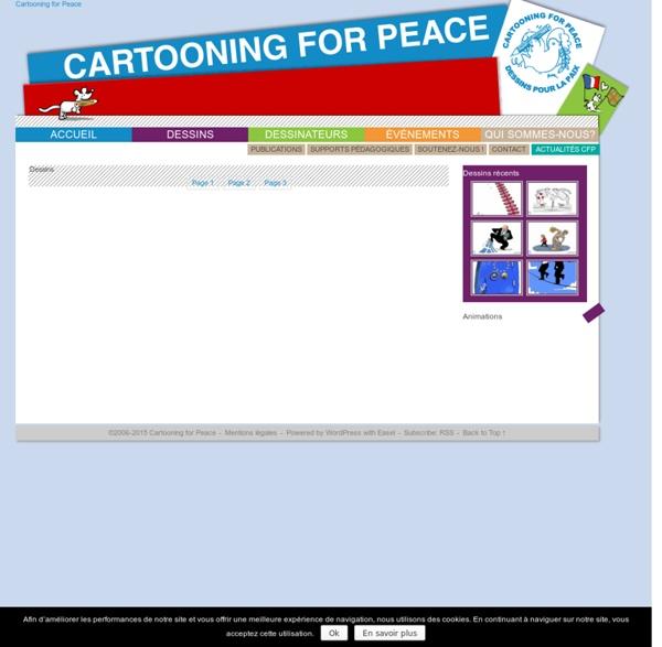 Cartooning for Peace - Dessins