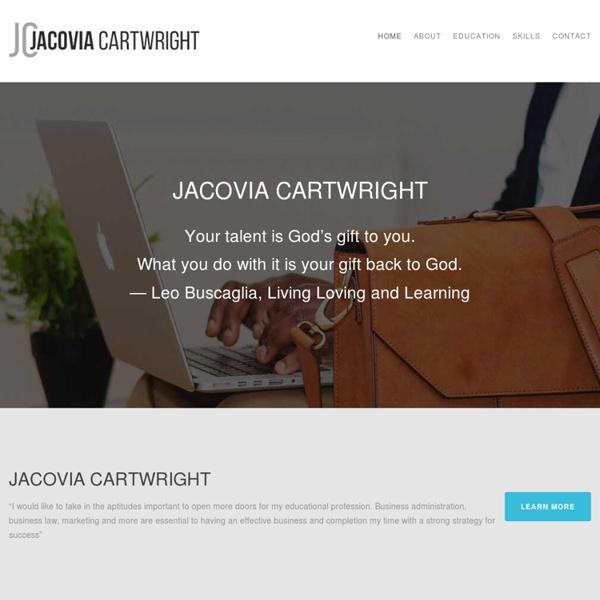 Jacovia Cartwright