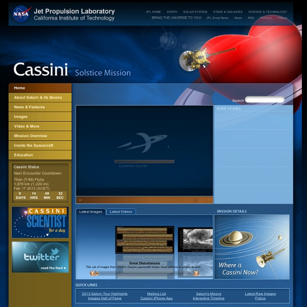 cassini mission dates - photo #16