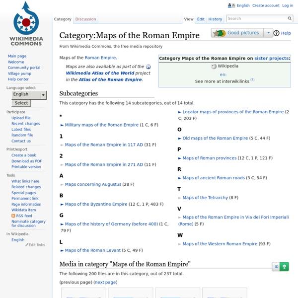 Catégorie: Cartes de l'Empire romain