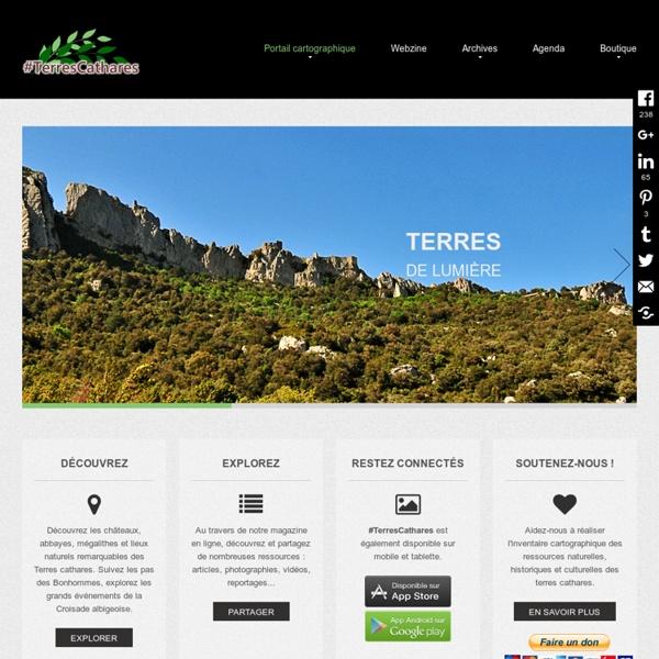 Prolongez l'aventure... avec cathares.org, voyage virtuel en Terres cathares