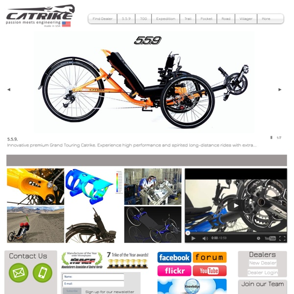Catrike Official Website