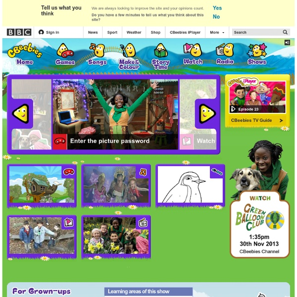 CBeebies - Green Balloon Club – The wildlife club for kids ...
