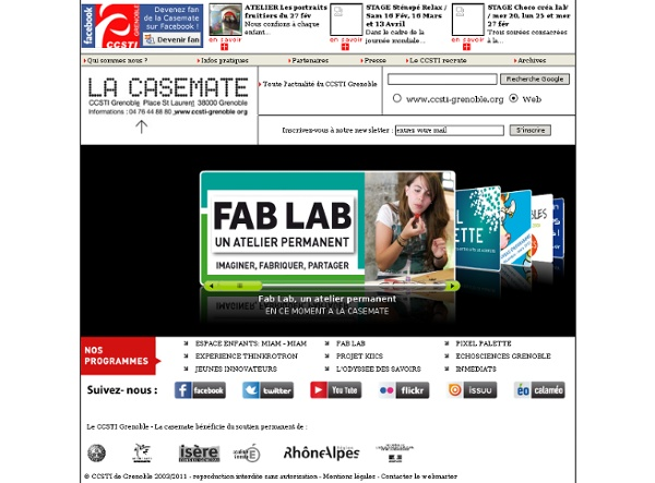CCSTI Grenoble, La Casemate