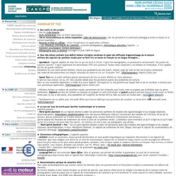 CDDP 24 : Handicap