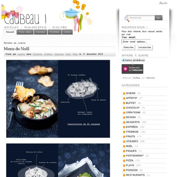 CduBeau ! Photos et recettes de cuisine