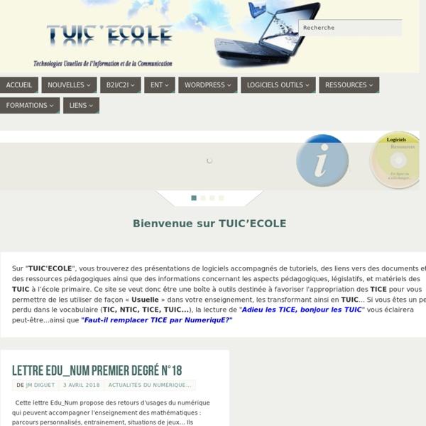 Ce site dédié aux TUICE