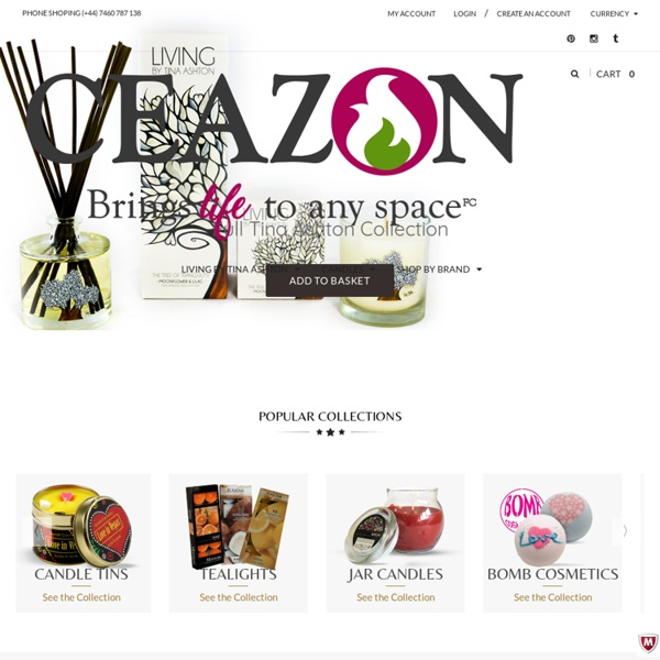Online Candle Shop - ceazon
