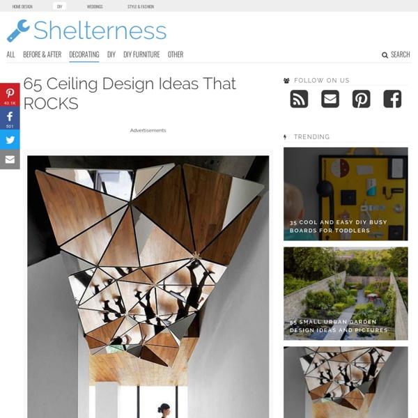 50 Ceiling Design Ideas