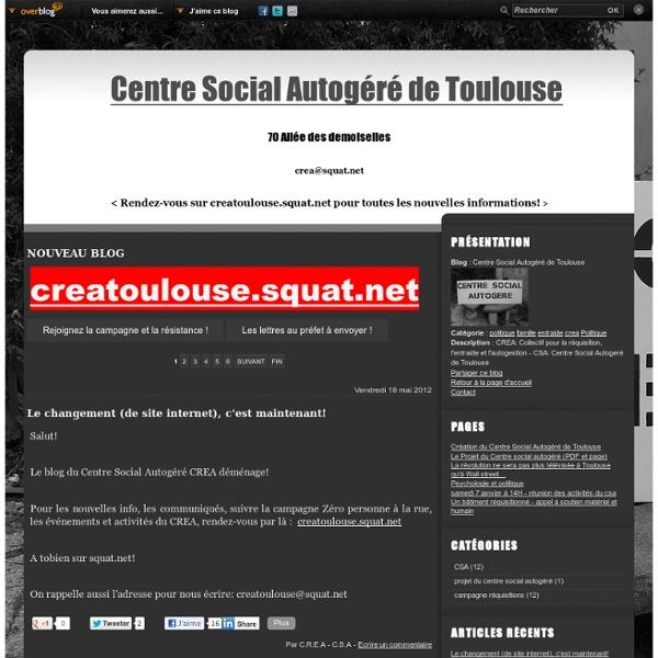 Centre Social Autogéré de Toulouse