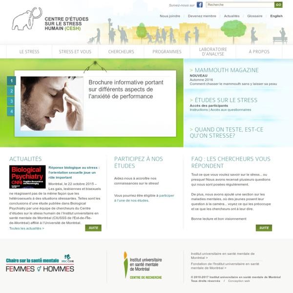 Centre d'études sur le stress humain (CESH)