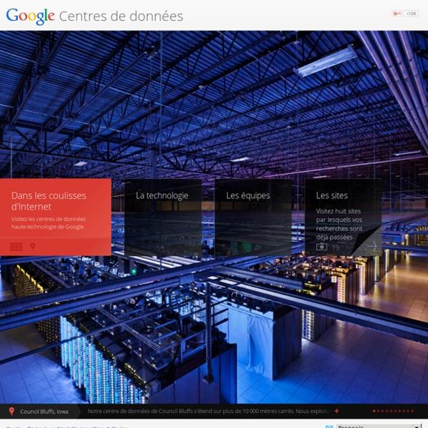 Centres de données – Google Centres de données
