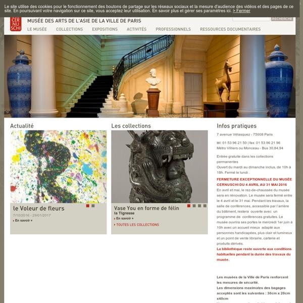 Musée des Arts de l'Asie de la Ville de Paris