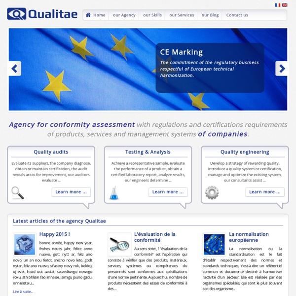 Label, certification, regulation, qualification