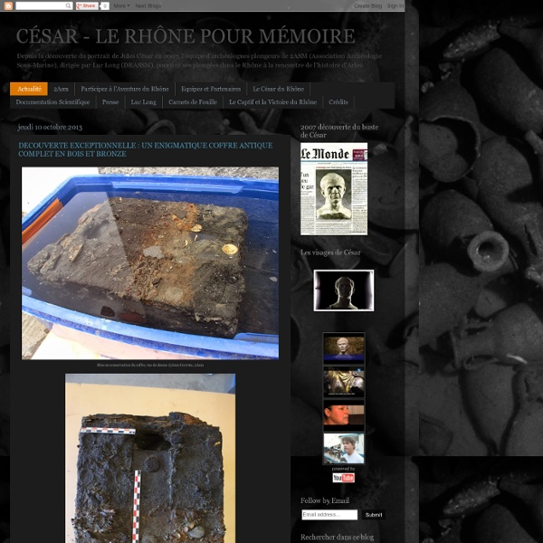 CÉSAR - LE RHÔNE POUR MÉMOIRE