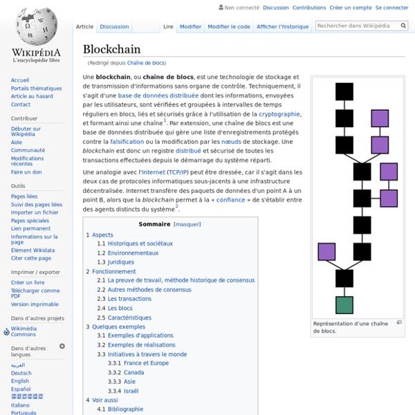 Blockchain - Wikipédia