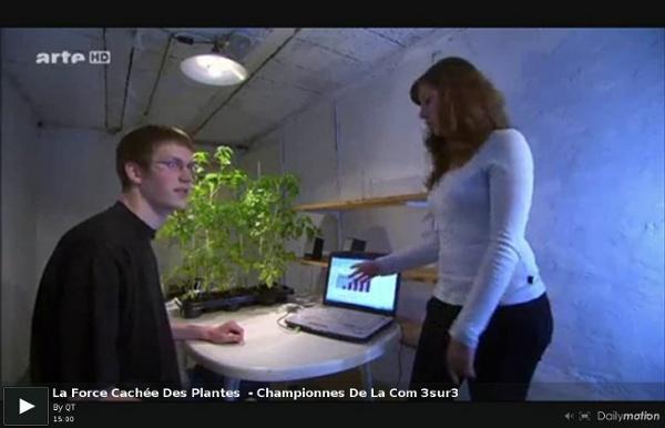 La Force Cachée Des Plantes - Championnes De La Com 3sur3 - une vidéo Expression Libre