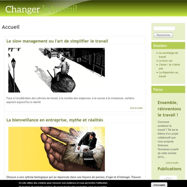 Changer le travail : Enquête collaborative
