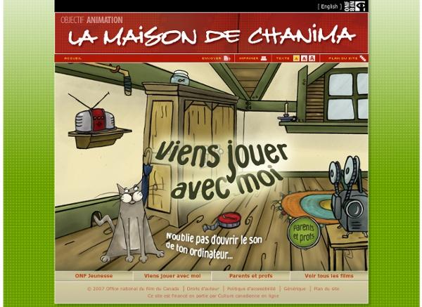 La maison de chanima - Objectif Animation - ONF