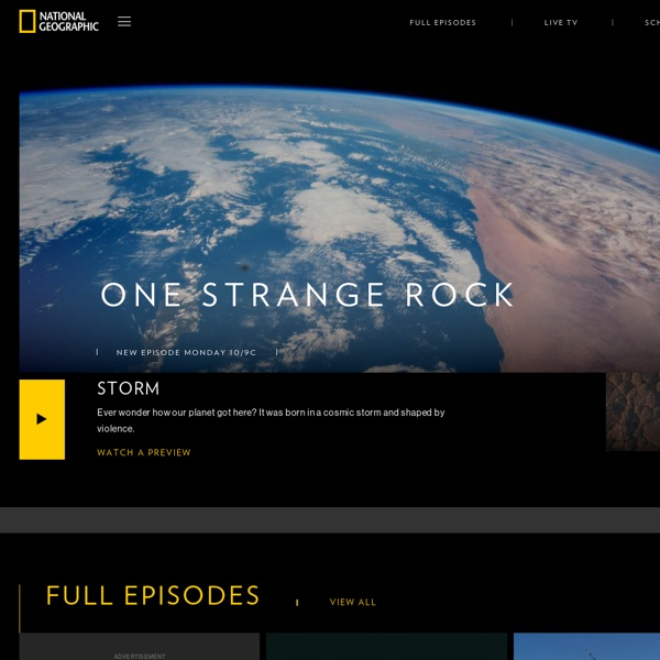 National Geographic Channel - Animals, Science, Exploration Television Shows