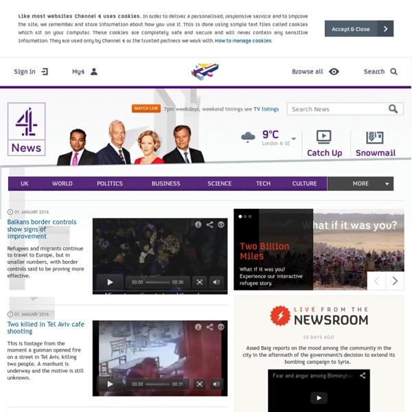 Channel 4 News - Latest UK & World News