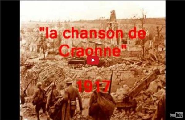 Chansons historiques de France 22 : la chanson de Craonne 1917