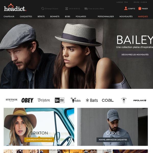 Chapeau, bonnet, casquette - La boutique dédiée à votre tête