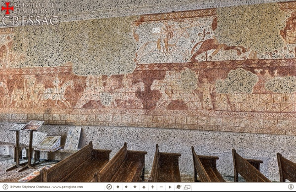 Chapelle des Templiers de Cressac (16)