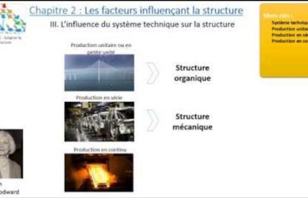 Chapitre 2 : Les facteurs influençant la structure