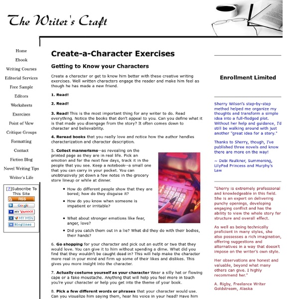essays on character development