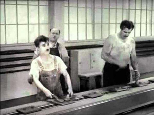 Charlie Chaplin - I tempi moderni