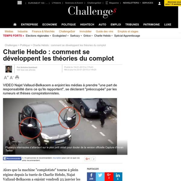 Charlie Hebdo: comment se développent les théories du complot - 23 janvier 2015
