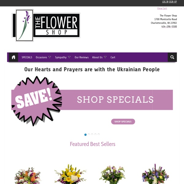Quick Flower Delivery in Charlottesville VA - The Flower Shop