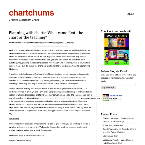 Smarter Charts from Marjorie Martinelli & Kristine Mraz