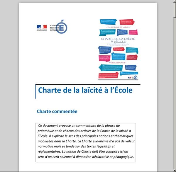 CHARTE DE LA LAÏCITÉ À L'ÉCOLE - charte_de_la_laicite_commentee_270062