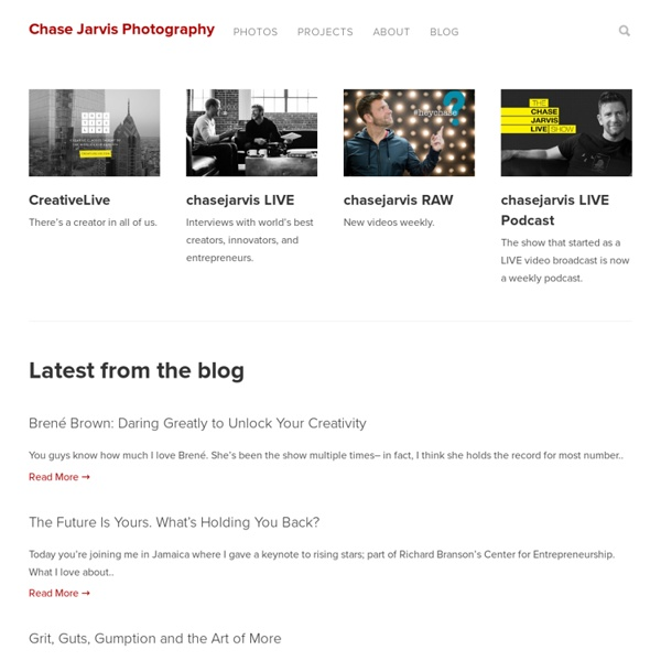 Chase Jarvis Blog