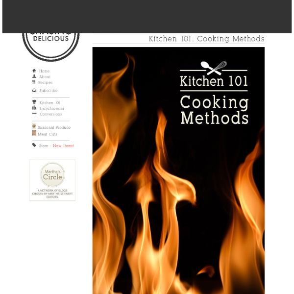 Kitchen 101: Cooking Methods
