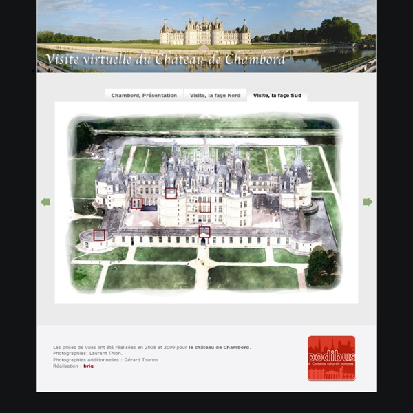 Visite virtuelle du château de Chambord