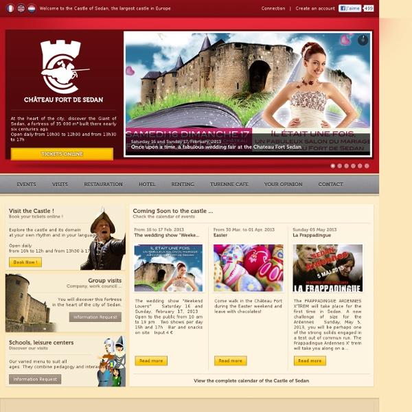 Château Fort de Sedan - Le Plus Grand Château d'Europe - Visites