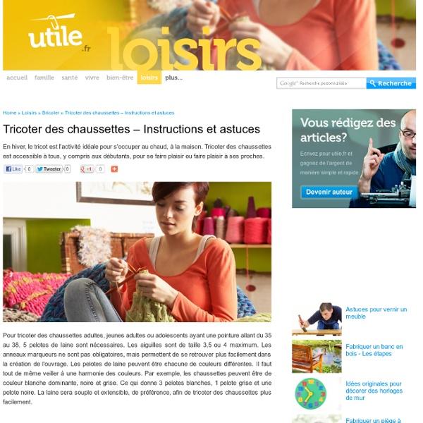 Tricoter des chaussettes – Instructions et astuces