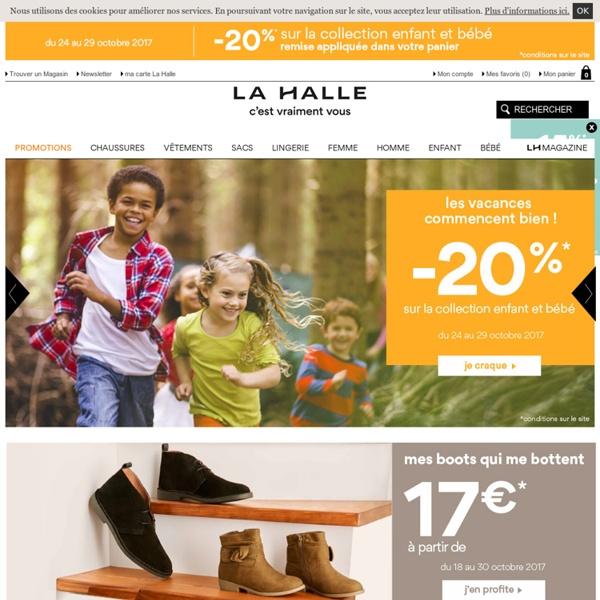 La Halle, le premier multimarques de mode français (vêtements, chaussures)