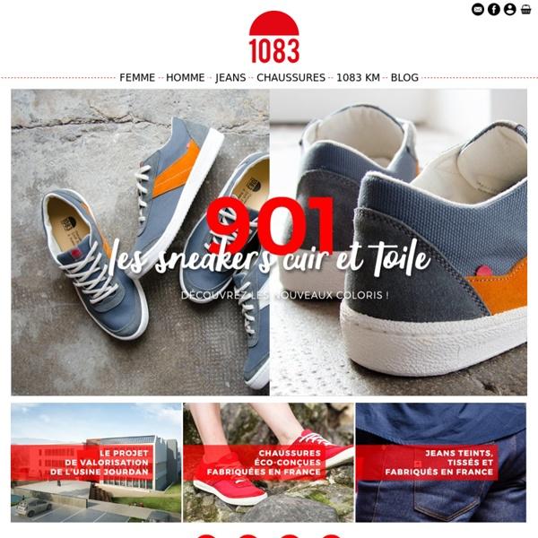 Jeans et Chaussures fabriqués en France - 1083