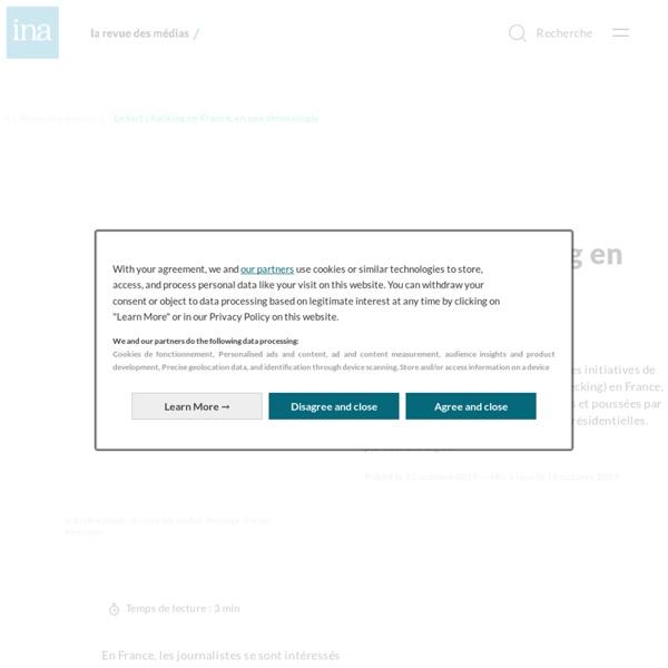 Le fact checking en France, en une chronologie