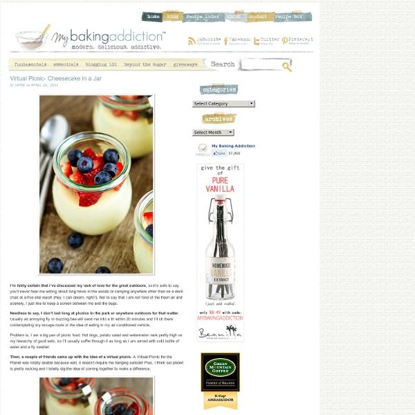 Cheesecake in a Jar Recipe