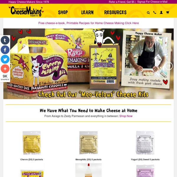 Cheesemaking - Online Store