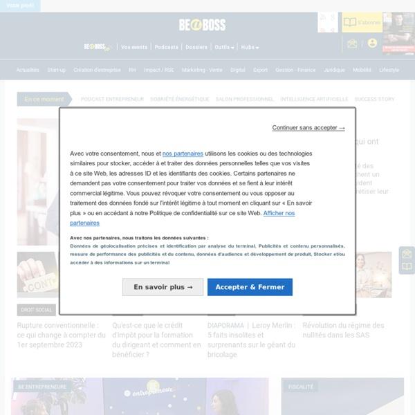 Chef d'Entreprise Magazine, le site des dirigeants de petites et moyennes entreprises - chefdentreprise.com